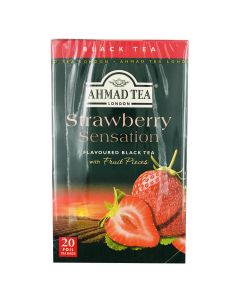 Picture of AHMAD TEA FRUITY STRAWBERRY
