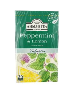 Picture of AHMAD TEA PEPPERMINT & LEMON