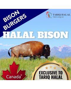 Bison Burgers (2 x 140g)