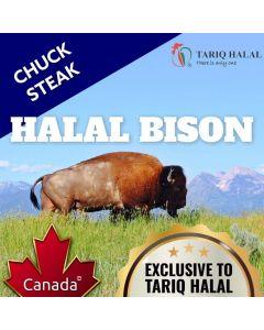 Bison Chuck Steaks (200g)