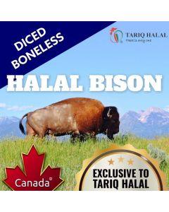 Diced Bison (500g)