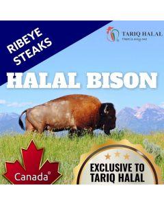 Bison Ribeye Steaks (200g)
