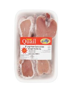 Picture of Frozen Skinless Quails
