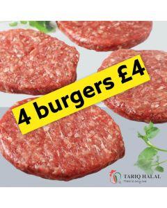 Frozen Prime Burgers (4 pack x 170g)