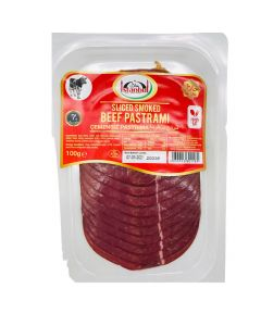 Picture of Istanbul Sliced Smoked Beef Pastrami 100g