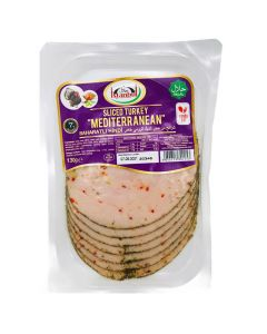 Picture of Istanbul Sliced Turkey Breast Mediterranean 130g