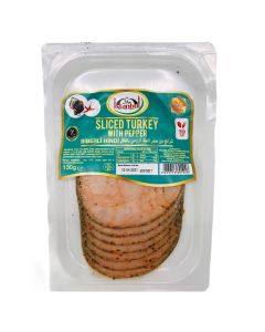 Picture of Istanbul Sliced Turkey Breast with Peppers 130g