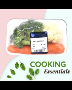 Mixed Vegetables (3pcs)