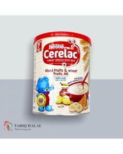 Picture of Nestle Cerelac Mixed Fruits Wheat With Milk Fruits 400g