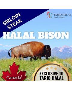 Bison Sirloin Steak (200g)