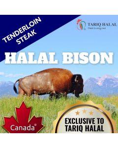 Bison Tenderloin Steak (200g)
