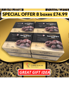 Tariq Halal Extra Large Natural Medjool Dates (8 boxes x 908g)