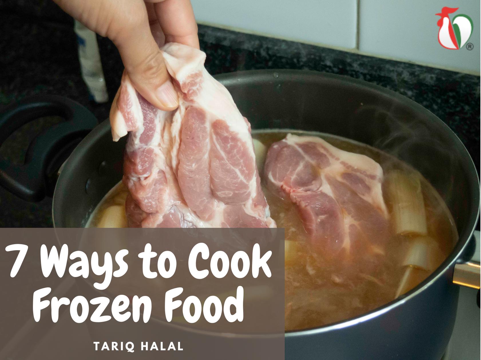 7 Ways to Cook Frozen Food