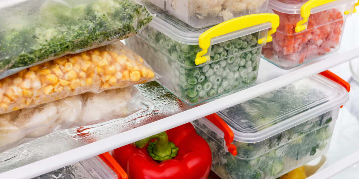 How to preserve frozen food?