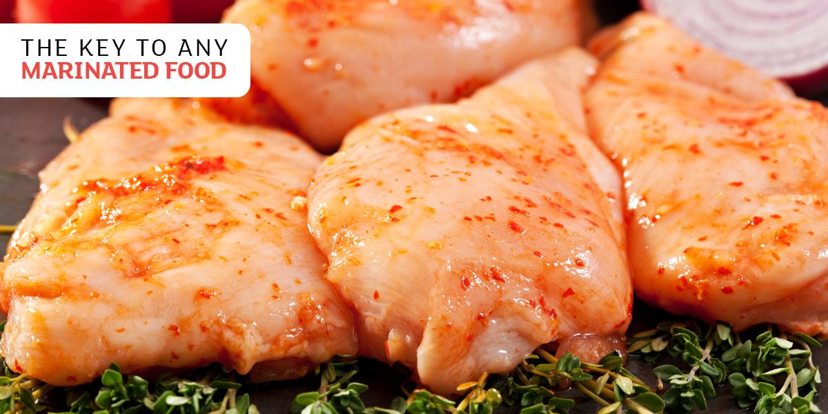 The KEY to any marinated food